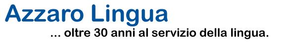 Azzaro-Lingua.de Logo aziendale