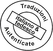 Traduzioni Autenticate italiano e tedesco